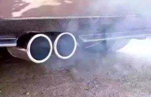 Queima lubrificante automotivo